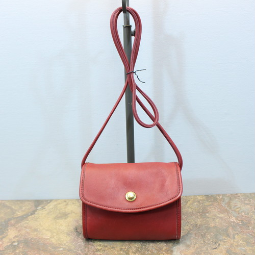 .OLD COACH LEATHER SHOULDER BAG MADE IN USA/オールドコーチレザーショルダーバッグ 2000000031217