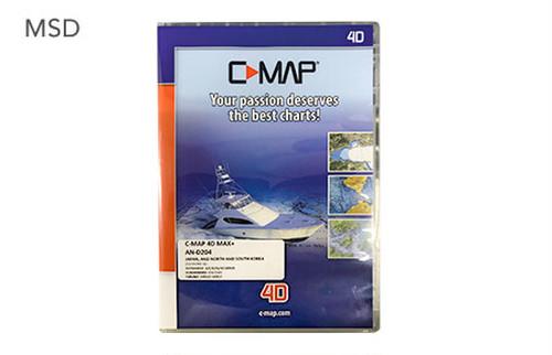 C-MAP 4D MAX+(日本 + 北朝鮮 + 韓国):MSDカード
