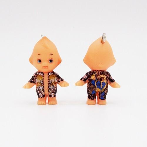 【大江戸桜】風神【刺青キューピー】