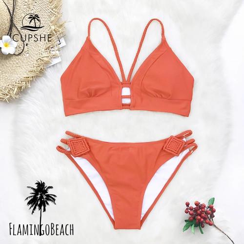【FlamingoBeach】simple cut bikini ビキニ