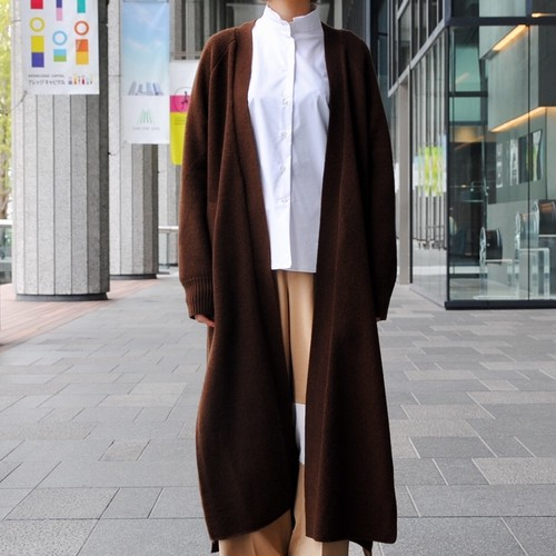【CINOH】LONG KNIT CARDIGAN