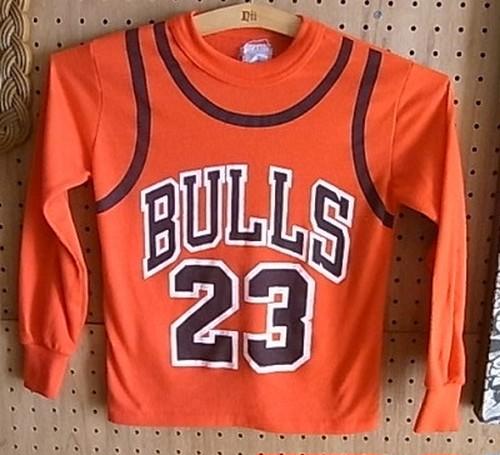 NBA BULLS23 L/STシャツ(KIDS)