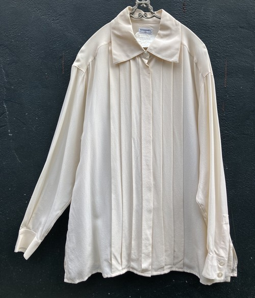 CHANEL Silk Blouse #02