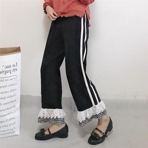 ★double line fril pants 3840