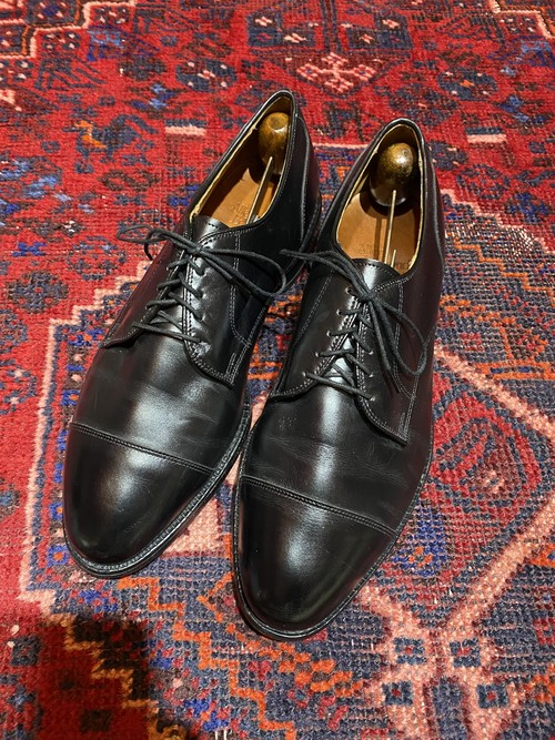 .ALLEN EDMONDS Margate LEATHER STRAIGHT TIP SHOES MADE IN USA/アレンエドモンズレザーストレートチップシューズ2000000052243
