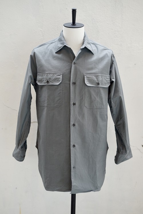 <SOLD OUT>Paris Métro - Dead Stock Uniform Work Shirt