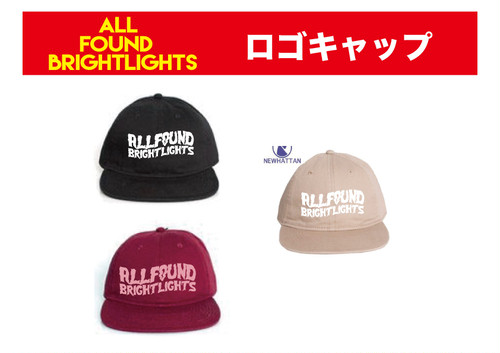 ALL FOUND BRIGHTLIGHTS ロゴキャップ
