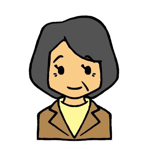 【単品】おばさんのみ ~上半身表情48カット~