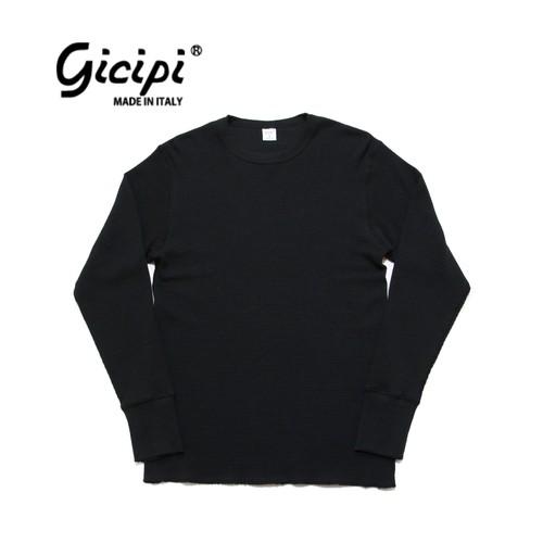 gicipi ヘビーウェイト サーマル (Giro Collo M 1904 A) 〈Black〉
