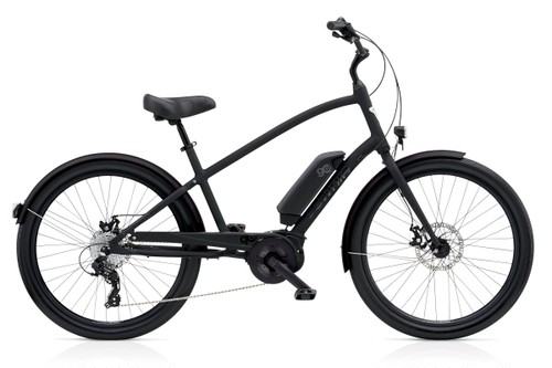 Electra TOWNIE GO! STEP OVER  Matte Black