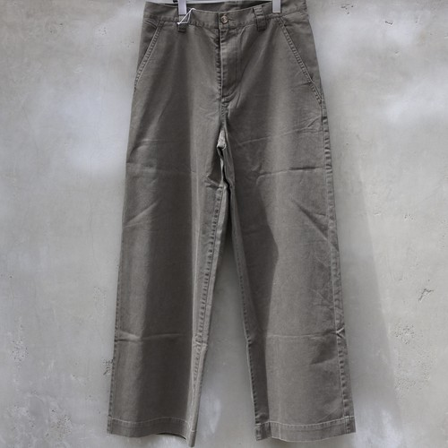 "RYU ""back satin wide full-length pants"""