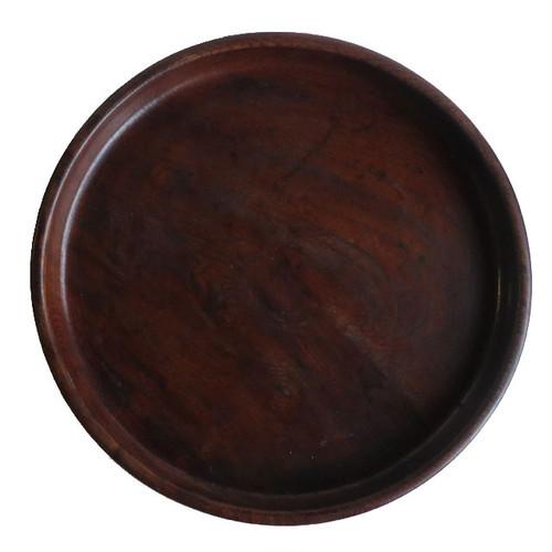 木製の丸盆