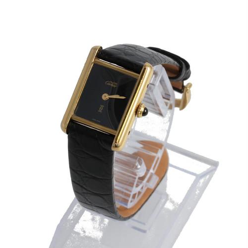 カルティエ マストタンク ヴェルメイユ S925 純正美錠 アンティーク時計