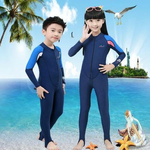 9365ウェットスーツ 水着 子供用 フルスーツ キッズウェットスーツ 子供用水着 長袖 女の子 男の子 ダイビング ラッシュガード UVカット 日焼け対策 スイムウェア マリンスポーツ 水遊び 速乾 夏