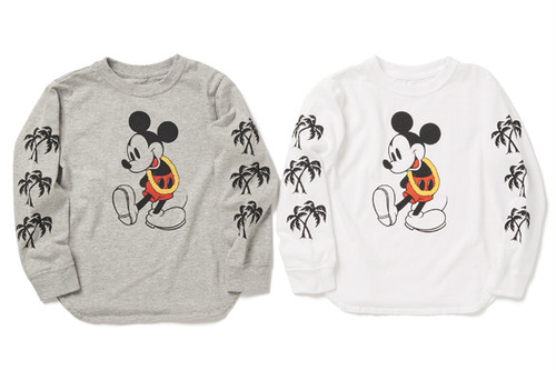PIG&ROOSTER (kids)MICKEY LONG SLEEVE T