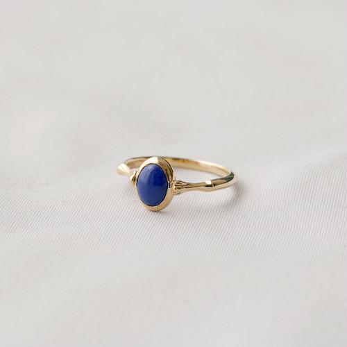 花テーブル ring - ラピスラズリ (gold)