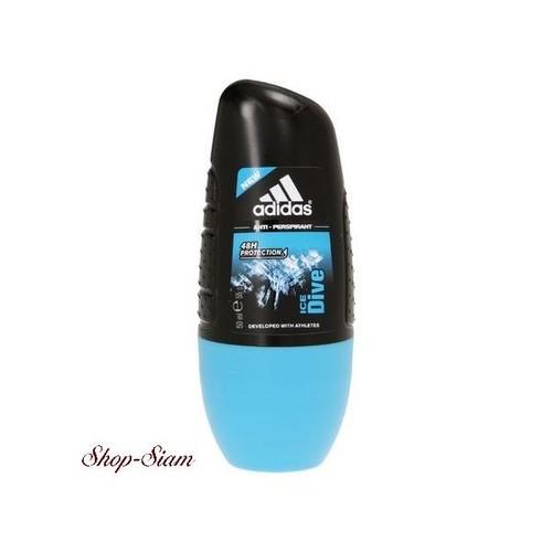 アディダス デオドラント ロールオン アイスダイブ / Adidas Deodorant Roll-on ICE Dive 50ml