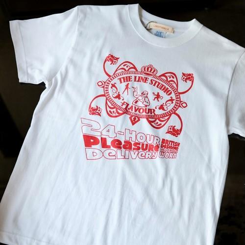 【LINESTUDIO-R】プリントTシャツ(24-HOUR)