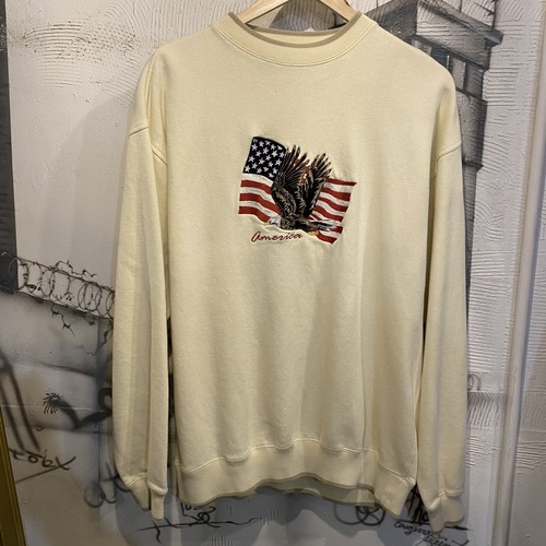 animal embroidery sweat