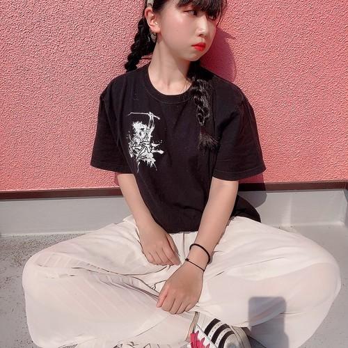 二天一龍TシャツLサイズ(ロゴステッカー付き)