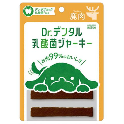 鹿肉【Dr.デンタル乳酸菌ジャーキー】6本入り