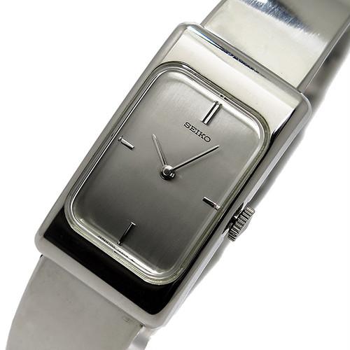 セイコー SEIKO 手巻き レディース 腕時計 ZWB13 シルバー シルバー
