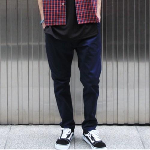 quolt / HERRINGBONE PANTS パンツ / NAVY / 901T-1183