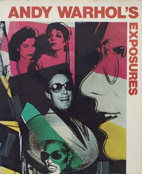 (古書) Andy Warhol's Exposure by Andy Warhol
