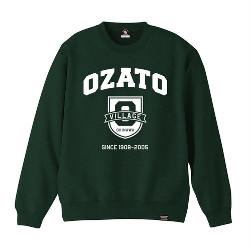 OZATO VILLAGE CREW NECK SWEAT
