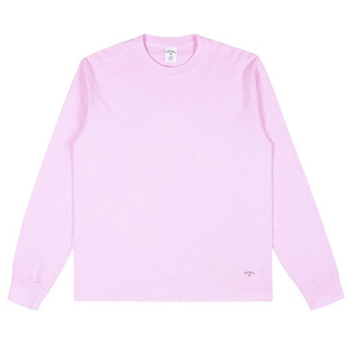 Recycled Cotton Long Sleeve Tee(Cerryblossom)
