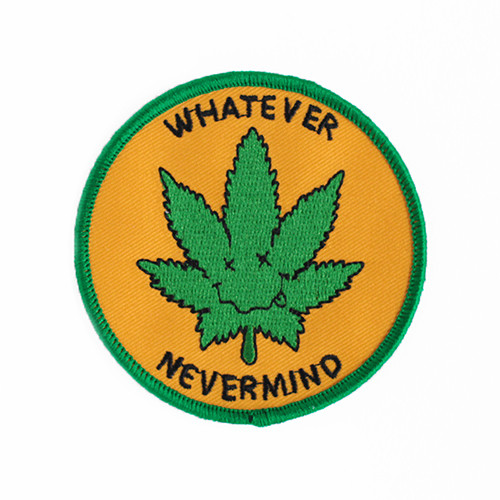 "STUPID KRAP""WHATEVER NEVERMIND EMBROIDERED"""