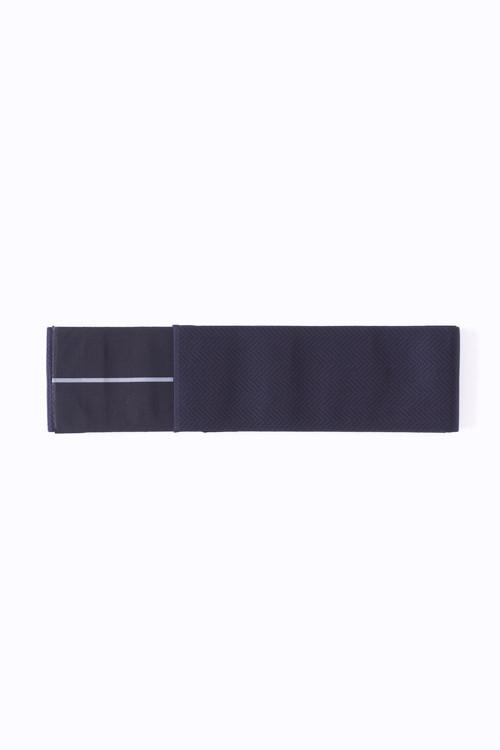博多角帯 / Herringbone / Navy black