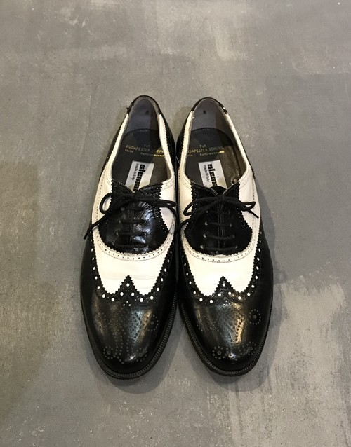 stemar Combination Wing Tip Shoes / Made in Italy [S-2627]