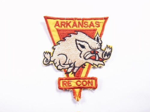 "OLD PATCH""ARKANSAS RECON"""