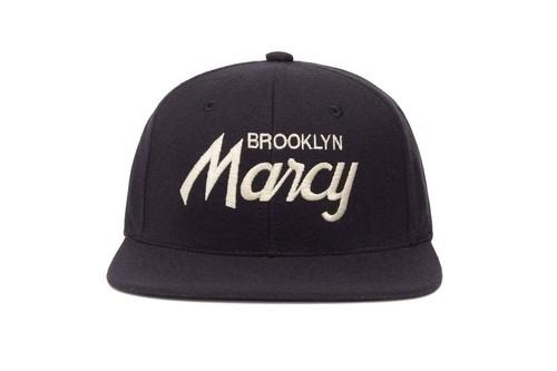 "HOOD®︎ ""BROOKLYN Marcy"" CAP NAVY"