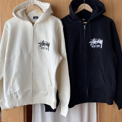 NY限定★Stussy New York International Zip Sweat Hoodie