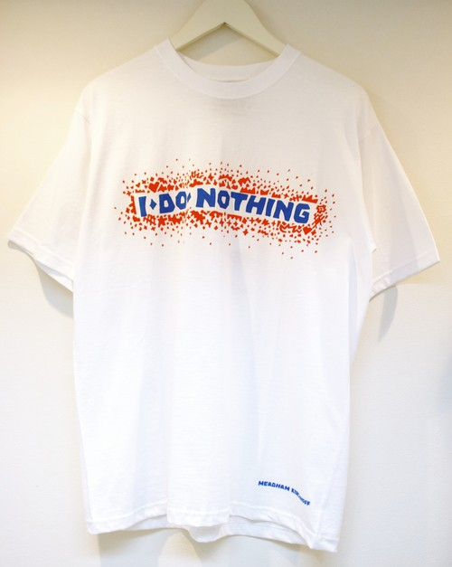 Meadham Kirchhoff NOTHING T-SHIRT ナッシング Tシャツ / WHITE 60%OFF
