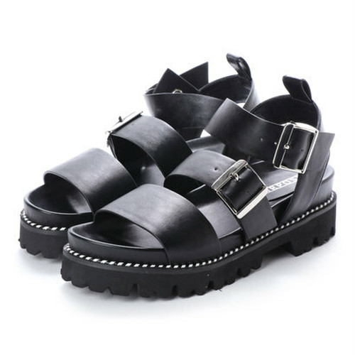 ※予約  combination belt sandal 【PURPOSE】