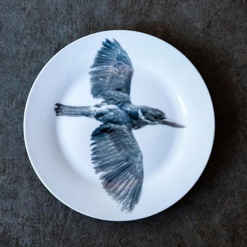《michirico》動物たちの飾るお皿「鳥」