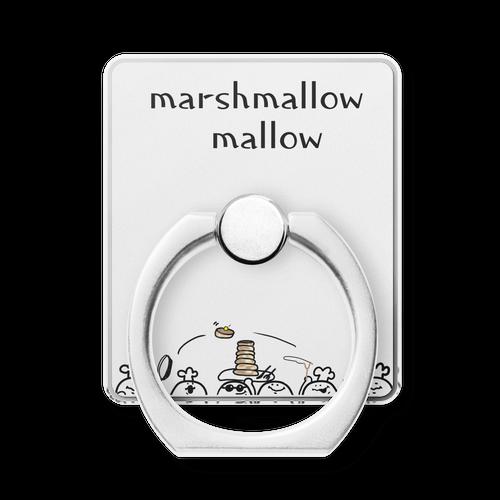 マシュマロマローさん スマホリング