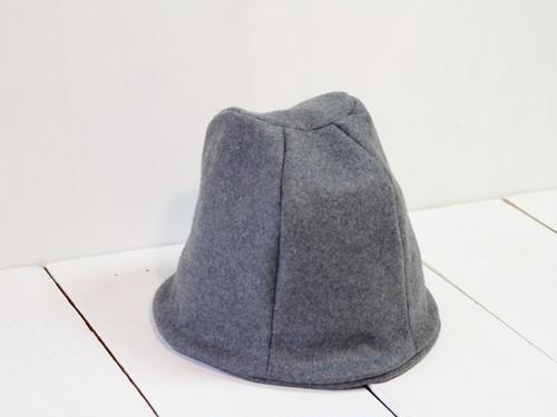HELMA HAT |  KNITWOOL c/#LIGHTGRAY【M58/L61】