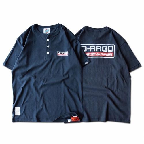 "【DARGO】""D-ARGO"" Henryneck T-shirt (SUMIKURO)"
