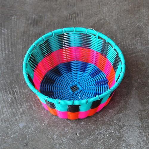メキシコ カラフルワイヤーカゴ(013)