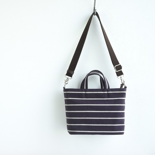 BORDER TOTE FS (2WAY)/ DEEP PURPLE