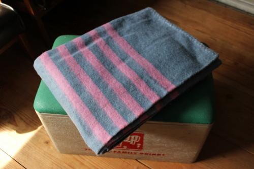 Recycle Wool Blanket (リサイクルウールブランケット)ピンク