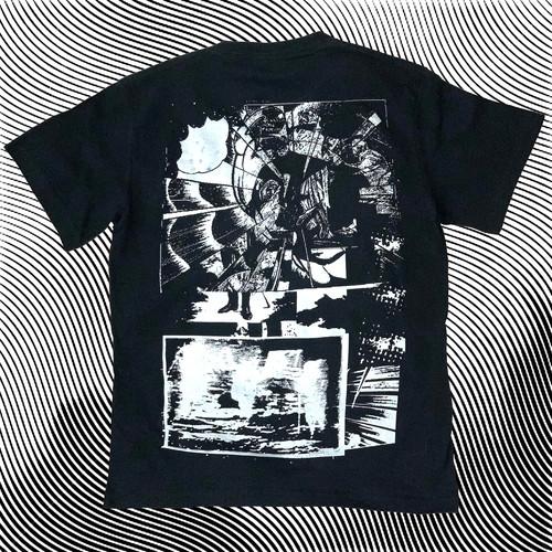 goat T-shirt 3 特殊シルバーインク