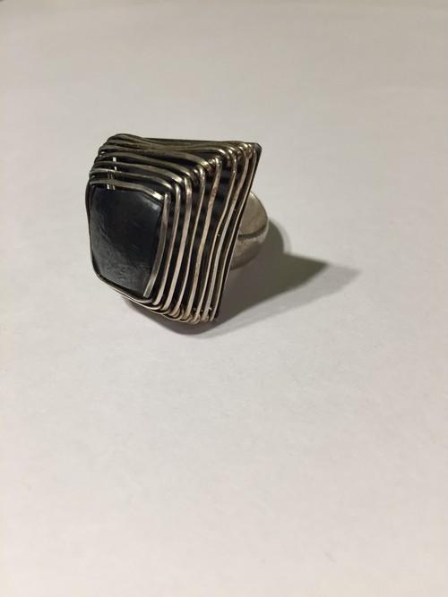 【17号】Vintage 925 silver  ring ( ヴィンテージ  シルバー リング )