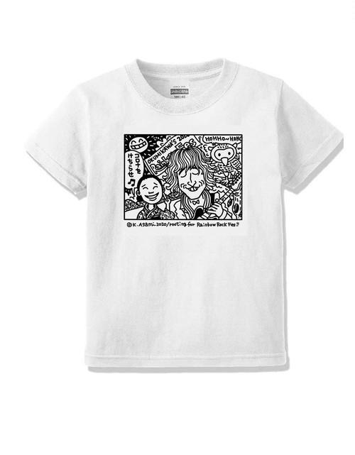 【受注生産】アサミカヨコ「伸ちゃん&ヒロエがんばれ」Tシャツ