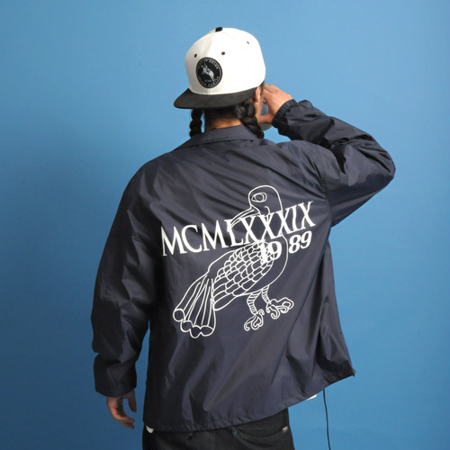 TEAM COACH JACKET NVY