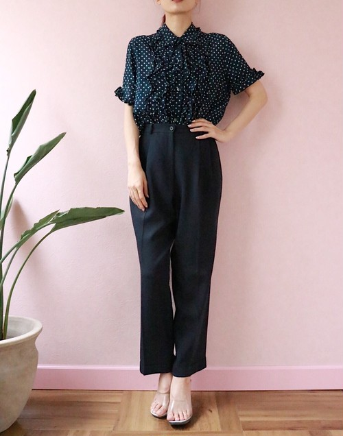 ANN TAYLOR dark navy pants